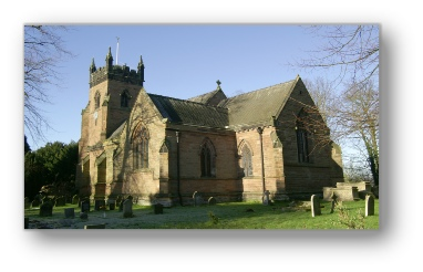 Picture of Christ Church Lichfield from the south-east